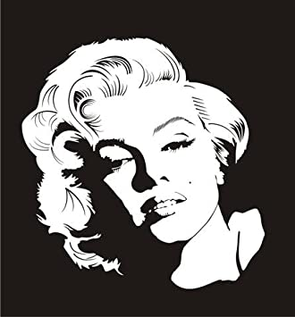 Marilyn Monroe Vinyl Decal Sticker Car Wall Design Window Laptop USA Seller