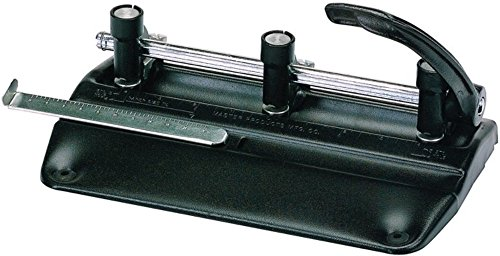 Martin Yale 5335B Master 5000 Series Hole Punch (Pack of 5), Black, 11/32
