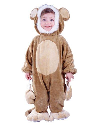 FunWorld Cuddly Monkey Baby Costume 6-12 Months -