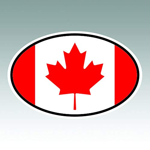 canada oval decal - 5