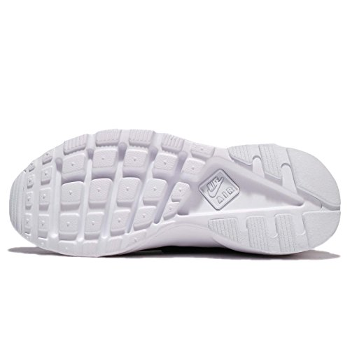 NIKE Herren Huarache Run Ultra Running Sneaker Schwarz-Weiss