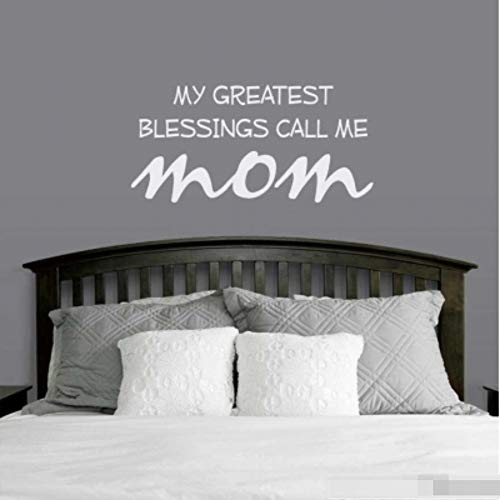 Vinyl Wall Lettering Stickers Quotes and Saying My Greatest Blessings Call Me Mom for Bedroom