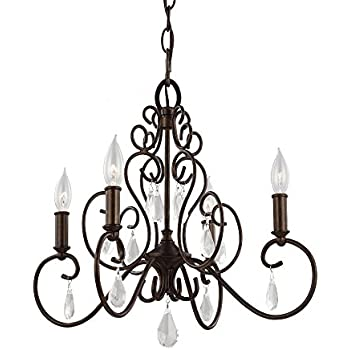 Feiss f23046mbz chateau collection 6 light chandelier mocha bronze feiss f30414bnb 4 light chandelier 1975 x 18 x 1825 aloadofball Images