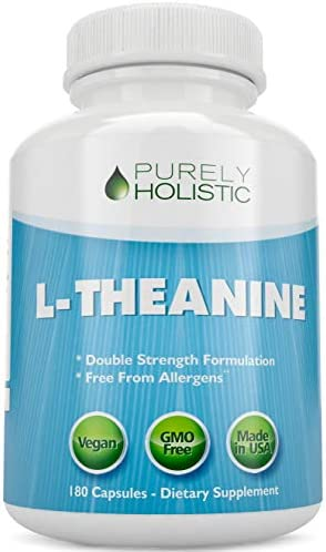 L Theanine Double Strength Capsules Ltheanine Vitamins