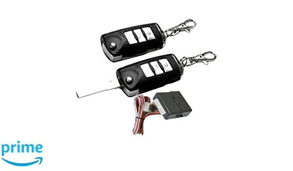100F115 - Sistema remoto de coches Cierre centralizado de bloqueo sin llave con los reguladores alejados llave plegable: Amazon.es: Coche y moto