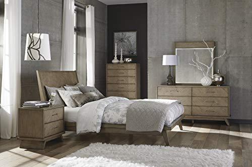 Bedroom Homelegance 6-Drawer Chest, Gray dresser