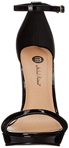 Michael Antonio Vrouwen Lovina Lakensandaal Sandaal Zwart 2 Patent