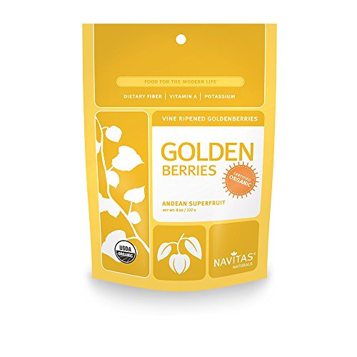 Navitas Organics Goldenberries  8 Ounce Pouches  Pack Of 2