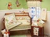 Pooh Days of Hunny Baby Crib Bedding 4-Piece Set