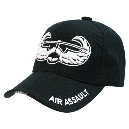 Assault Cap (Rapid Dominance Genuine The Legend, Military Branch Caps (Adjustable , Air Assault Black))