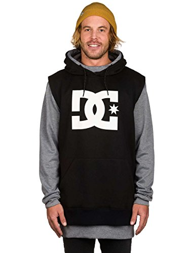 DC Shoes Herren Dryden M Otlr Fleece Top, Schwarz, XL