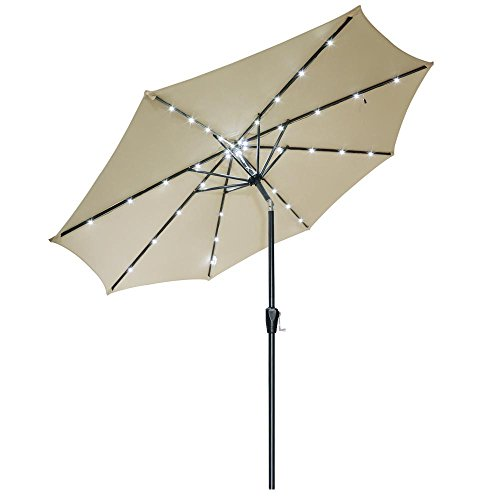 Yescom Aluminum Outdoor Umbrella Sunshade