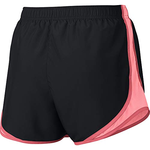 Nike Women's Tempo Running Shorts, Black/Pink Gaze/Ember Glow/Wolf Grey, Size X-Small by Nike (Image #2)