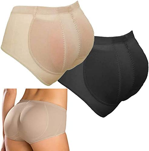 Silicone Butt Padded Panties Removable Big Pads Buttocks Enhancer Butt Lift Panties