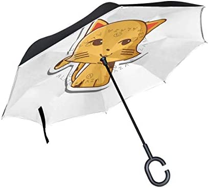 ETGeed Umgekehrter Regenschirm Red Plane Reverse Umbrella