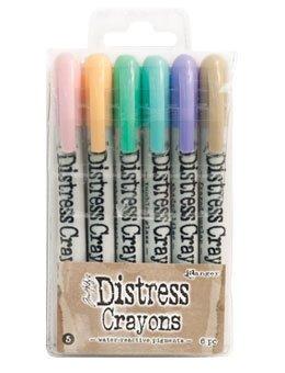 Ranger Tim Holtz Distress Crayons Bundle: Sets 1, 2, 3, 4, and 5 by Ranger Ink (Image #5)