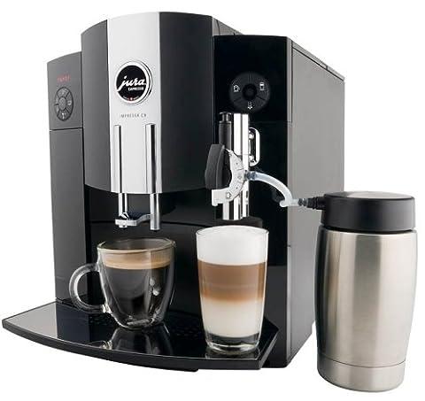 Jura IMPRESSA C9 Automatic Coffee Machine, Black - Jura Capresso Thermal Milk Container