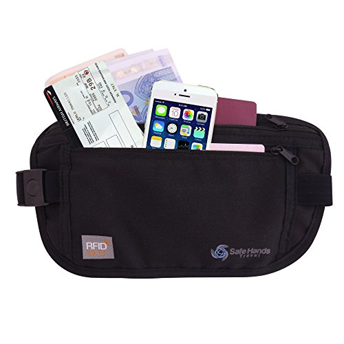 Money Belt [with RFID Protection] – Ideal for travel – Keep your...