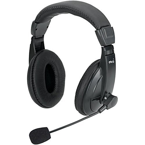 DGIMM750H - DIGITAL INNOVATIONS MM750H Full-Size Stereo Headset with Padded Earcups
