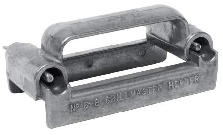 Grillmaster Grill Stone Holder, Fits All Size Pumice Blocks & Bricks for Grill, Griddle, Pool & Spa Cleaning, Made of Aluminum, US Pumice, Use with GM-36, GM48 (Pack of 6) by U.S. Pumice (Image #4)