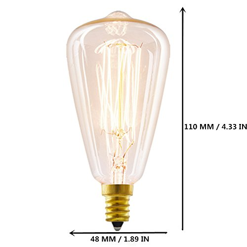Buy vintage candelabra bulbs 40w