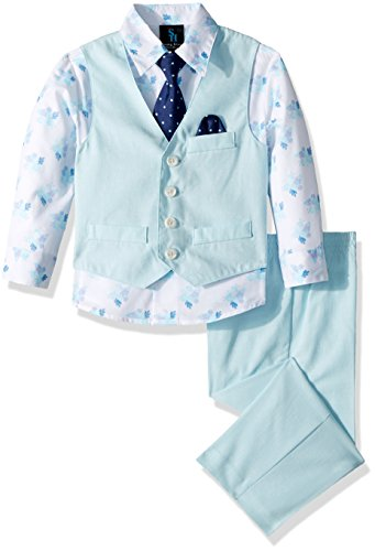 Steve Harvey Boys' Little Four Piece Vest Set, Curacao for sale  Delivered anywhere in USA