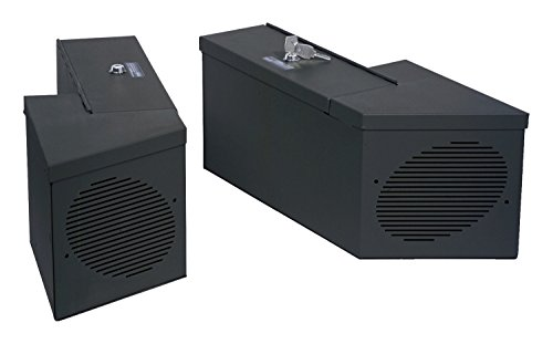 Tuffy 015-01 Speaker/Storage Boxes -Black