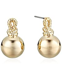 "kate spade new york""Drop Studs"" Sailor'S Knot Drop Stud Earrings"