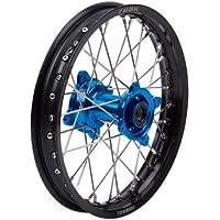 Rear 19 x 2.15 Black Rim//Silver Spoke//Blue Hub for Yamaha YZ125 2002-2019 Impact Complete Wheel