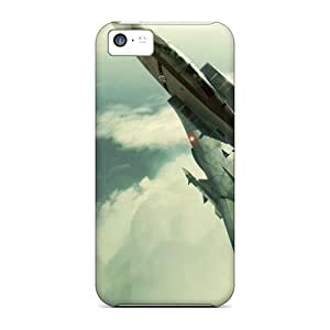 5c Scratch-proof Protection Case Cover For Iphone/ Hot Ace Combat Plane F 14 Phone Case