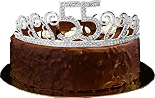 Amazon 55th Birthday Tiara And Sash Its My