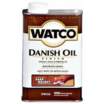 Danish Walnut Finish (Watco Danish Oil Finish)
