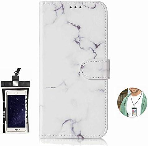 耐汚れ 耐摩擦 Samsung Galaxy S6 edge ケース 手帳型 本革 レザー カバー 財布型 スタンド機能 カードポケット 耐摩擦 全面保護 人気 アイフォン[無料付防水ポーチケース]