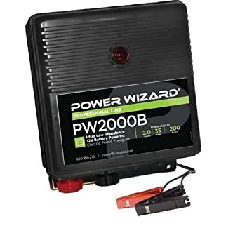 Power Wizard Pw2000b Battery Electric Fence Charger 2