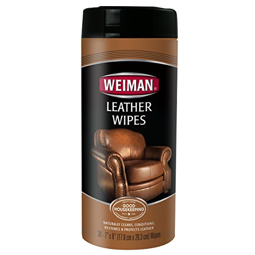 Weiman Leather Wipes 30 Count Jars