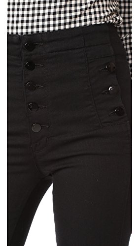 J Brand Jeans Women's Natasha Sky High Rise Skinny, Seriously Black, 27 by J Brand Jeans (Image #5)