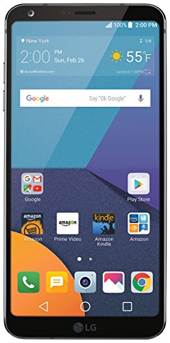 (LG G6 - 32 GB - Unlocked (AT&T/T-Mobile/Verizon) - Black - Prime Exclusive)
