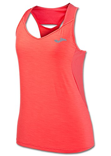 JOMA T-SHIRT BELLA CORAL FLUOR SLEEVELESS L