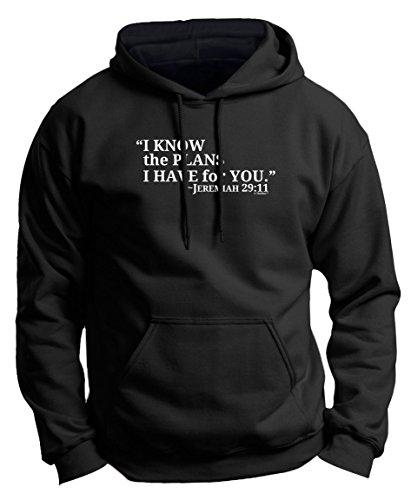 I Know the Plans I Have for You Jeremiah 29:11 Premium Hoodie Sweatshirt