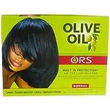 Organic Olive Oil No Lye Relaxer For Normal Hair - 1Kit, 3 Pack