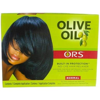ORS Olive Oil Built-In Protection Full Application No-Lye Hair Relaxer - ()