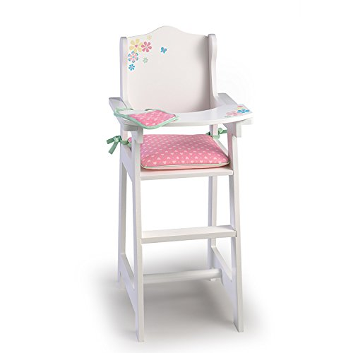 Baby Doll High Chair with Pad and Bib for So Truly Mine Baby Doll by The Ashton-Drake Galleries (Chairs Breakfast Online)