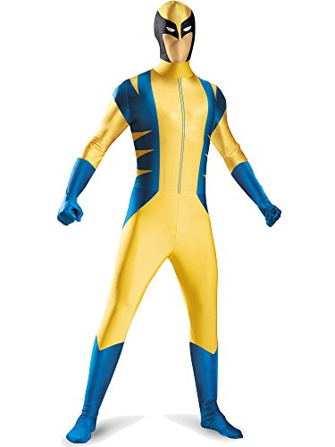 Child Deluxe Wolverine Costumes (Wolverine Deluxe Bodysuit Tween Costume - Large)