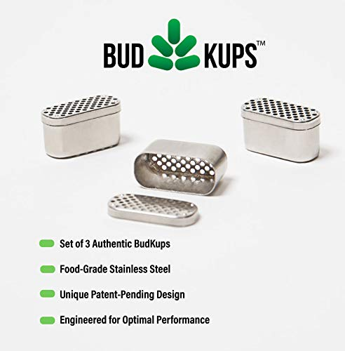 The Real BudKups Generation 3 0, Loading Capsule for Pax 2 and Pax 3,  Screen Alternatives for Cleaner Pax