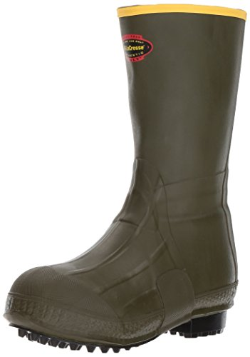 LaCrosse Men's Burly Air Grip 12' Hunting Shoes, Olive Dye Green, 10 D US