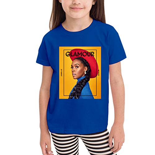 Children's T-Shirt Janelle Composer Monae Cotton Tee for Girls Boys -