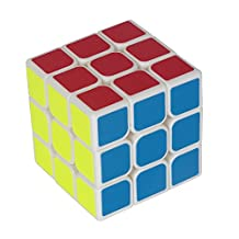 USATDD Magic Cube 3x3x3 White YJ Smooth Speed Cube Puzzle