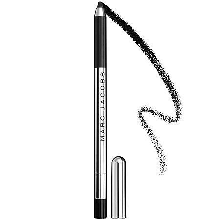 Highliner - Gel Crayon Marc Jacobs Beauty 0.1 Oz Blacquer - Black | NEW ()