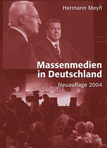 Massenmedien in Deutschland PDF
