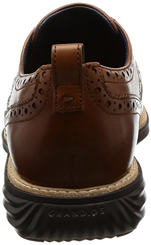 Cole Haan Hombres Grand Evolution Shortwing Oxford British Tan-java